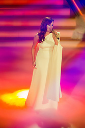 02.12.2017, Suhl, GER, Das Adventsfest der 100.000 Lichter 2017, im Bild Andrea Berg // during the ARD TV Show Adventfest der 1000 Licher in Suhl, Germany on 2017/12/02. EXPA Pictures © 2017, PhotoCredit: EXPA/ Eibner-Pressefoto/ Socher<br /> <br /> *****ATTENTION - OUT of GER*****