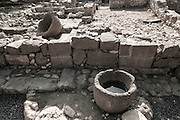 The ruins of Magdala (Mejdel) - current day Migdal. On the Sea of Galilee