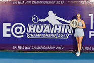 WTA EA Hua Hin Championship 2017