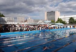 Swimmers at international swimming competition Ilirija 2005, on May 7, 2005, Ilirija Swimming pool, Ljubljana, Slovenia.  (Photo by Vid Ponikvar / Sportida)
