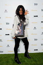 © Licensed to London News Pictures. 19/04/2016. Sinitta attends an exclusive screening of The Jungle Book hosted by Digital Cinema Media (DCM), The Walt Disney Company and Picturehouse Central as part of Advertising Week Europe 2016. Picturehouse Central, London, UK. Photo credit : David Tett/LNP