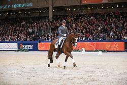 Van Lieren Laurens, (NED), Upperville<br /> Grand Prix Hengst Upperville<br /> KWPN Hengstenkeuring - 's Hertogenbosch 2016<br /> © Hippo Foto - Dirk Caremans<br /> 06/02/16