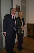 Michael and Sandra Howard.  Dancing To the Music of Time- The Life and Work of Anthony Powell. The Wallace Collection. Manchester Sq. London. November 2, 2005 in London,. ONE TIME USE ONLY - DO NOT ARCHIVE © Copyright Photograph by Dafydd Jones 66 Stockwell Park Rd. London SW9 0DA Tel 020 7733 0108 www.dafjones.com