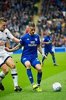 Football - 2017 / 2018 EFL Sky Bet Championship - Cardiff vs. Millwall<br /> <br /> Joe Bennett of Cardiff City on the ball, at Cardiff City Stadium.<br /> <br /> COLORSPORT/WINSTON BYNORTH