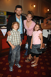 Actor ANDY SERKIS, his wife LORRAINE ASHBOURNE and 2 of their children SONNY and RUBY at a children's ballet workshop and tea party to celebrate the world premiere of 'Angelina's Star Performance' Angelina Ballerina's first real life ballet hosted by the National Ballet at the New Wimbledon Theatre, London SW19 on 6th September 2007.<br /><br />NON EXCLUSIVE - WORLD RIGHTS