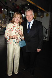 SANDY & CAROLINE ORR he is chairman of the board at the Lyric and Executive Chairman - City Inn Ltd at a pre show reception to celebrate the 50th anniversary of the play 'The Birthday Party' held at the Lyric Theatre, Kings Street, Hammersmith, London on 19th May 2008.<br />