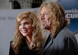 ©Retna Pictures / Mark Larner. Picture shows, left to right, Alison Krauss & Robert Plant  arriving at Mercury Music Awards, London, 9th September 2008.