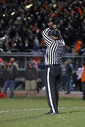 21 October 2016: Champaign Central Maroons at Normal Community Ironmen.IHSA football, Normal Illinois<br /> <br /> #Normalcommunityironmen #bestlookmagazine #alphoto513 #IHSA #IHSAFootball