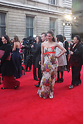 SUMMER STRALLEN; , Olivier Awards 2012, Royal Opera House, Covent Garde. London.  15 April 2012.