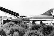 Israeli Air Force Dassault Mirage IIICJ fighter plane - Archival Black and white Image ..