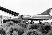 Israeli Air Force Dassault Mirage IIICJ fighter plane - Archival Black and white Image ..