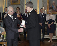 Sweden: Presentation of the Prince Eugen Medal