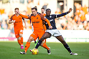 Dundee midfielder Glen Kamara (#8) challenges Dundee United forward Scott McDonald (#8) during the Betfred Scottish Cup match between Dundee and Dundee United at Dens Park, Dundee, Scotland on 9 August 2017. Photo by Craig Doyle.