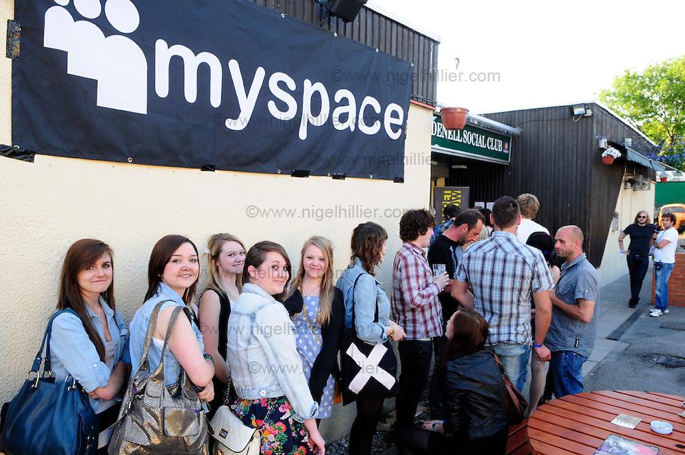 Mystery Jests Myspace secret gig, leeds