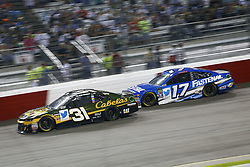September 22, 2018 - Richmond, Virginia, United States of America - Ricky Stenhouse, Jr (17) battles for position during the Federated Auto Parts 400 at Richmond Raceway in Richmond, Virginia. (Credit Image: © Chris Owens Asp Inc/ASP via ZUMA Wire)