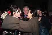 NICKY SHULMAN; PHILIP TREACY; AMANDA HARLECH, Fashion and Gardens, The Garden Museum, Lambeth Palace Rd. SE!. 6 February 2014.