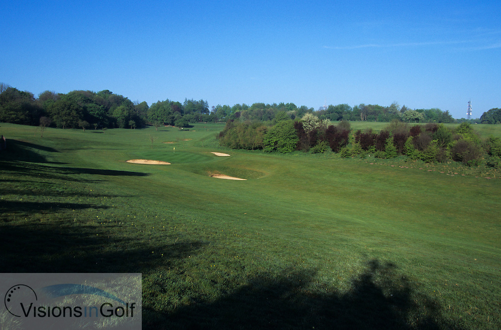 Royal Winchester GC, England, Uk, Photo Mark Newcombe<br /> <br /> Royal Winchester GC, 18th hole