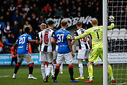 Rangers pile on the pressure towards the end of the 2nd halfduring the Ladbrokes Scottish Premiership match between St Mirren and Rangers at the Simple Digital Arena, Paisley, Scotland on 3 November 2018.