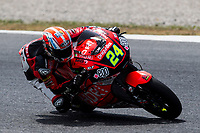 Simone Corsi of Italy and Speed Up Racing Team rides during free practice for the Moto2 of Catalunya at Circuit de Catalunya on June 9, 2017 in Montmelo, Spain.(ALTERPHOTOS/Rodrigo Jimenez)