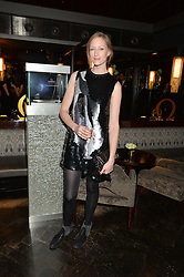JADE PARFITT at the OMEGA VIP dinner hosted by Cindy Crawford and OMEGA President Mr. Stephen Urquhart held at aqua shard', Level 31, The Shard, 31 St Thomas Street, London, SE1 9RY on 10th December 2014.