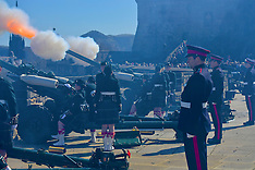 Queen's Birthday 21 gun salute | Edinburgh | 21 April 2016