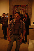 Tommy Mattinson gurning. Folk Archive organise  by Alan Kane and Jeremy Deller. ONE TIME USE ONLY - DO NOT ARCHIVE  © Copyright Photograph by Dafydd Jones 66 Stockwell Park Rd. London SW9 0DA Tel 020 7733 0108 www.dafjones.com