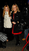 07.FEBRUARY.2007. LONDON<br /> <br /> VICTORIA BECKHAM ALONG WITH SPICE GIRLS GERI HALLIWELL AND EMMA BUNTON AT NOBU RESTAURANT, BERKLEY SQUARE.<br /> <br /> BYLINE: EDBIMAGEARCHIVE.CO.UK<br /> <br /> *THIS IMAGE IS STRICTLY FOR UK NEWSPAPERS AND MAGAZINES ONLY*<br /> *FOR WORLD WIDE SALES AND WEB USE PLEASE CONTACT EDBIMAGEARCHIVE - 0208 954 5968*