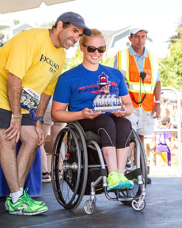 41st Falmouth Road Race: Jill Moore