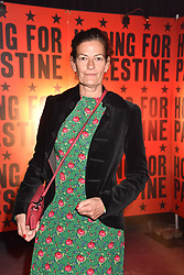 """Venetia Scott at """"Hoping For Palestine"""" Benefit Concert For Palestinian Refugee Children held at The Roundhouse, Chalk Farm Road, England. 04 June 2018."""