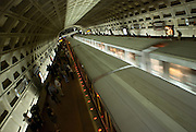 Washington DC Metro system providing effective public transportation.