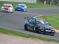 #15 Graham CROWHURST BMW E46  during K-Tec Racing Clio 182 Championship as part of the 750 Motor Club at Oulton Park, Little Budworth, Cheshire, United Kingdom. April 14 2018. World Copyright Peter Taylor/PSP.