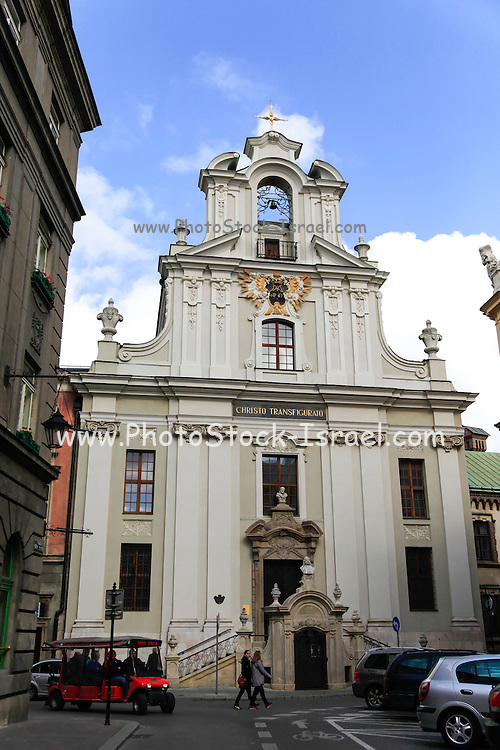 Krakow Poland a church