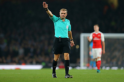 25 October 2016 - EFL Cup - 4th Round - Arsenal v Reading - Referee Graham Scott - Photo: Marc Atkins / Offside.