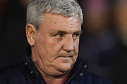 Aston Villa manager Steve Bruce during the EFL Sky Bet Championship match between Nottingham Forest and Aston Villa at the City Ground, Nottingham, England on 4 February 2017. Photo by Jon Hobley.