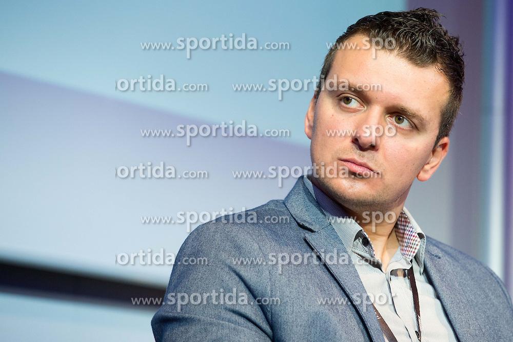Almir Murtezic of Bosnia and Herzegovina football federation at sports marketing and sponsorship conference Sporto 2014, on November 20, 2014 in Hotel Slovenija, Congress centre, Portoroz / Portorose, Slovenia. Photo by Vid Ponikvar / Sportida