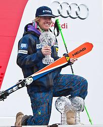 18.03.2011, Pista Silvano Beltrametti, Lenzerheide, SUI, FIS Ski Worldcup, Finale, Lenzerheide, Podium, im Bild Ted Ligety (USA) // during Overall Podium, at Pista Silvano Beltrametti, in Lenzerheide, Switzerland, 18/03/2011, EXPA Pictures © 2011, PhotoCredit: EXPA/ J. Feichter