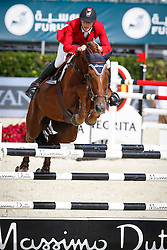 Devos Pieter (BEL) - Candy<br /> Furusiyya FEI Nations Cup Jumping Final Round 1<br /> CSIO Barcelona 2013<br /> © Dirk Caremans