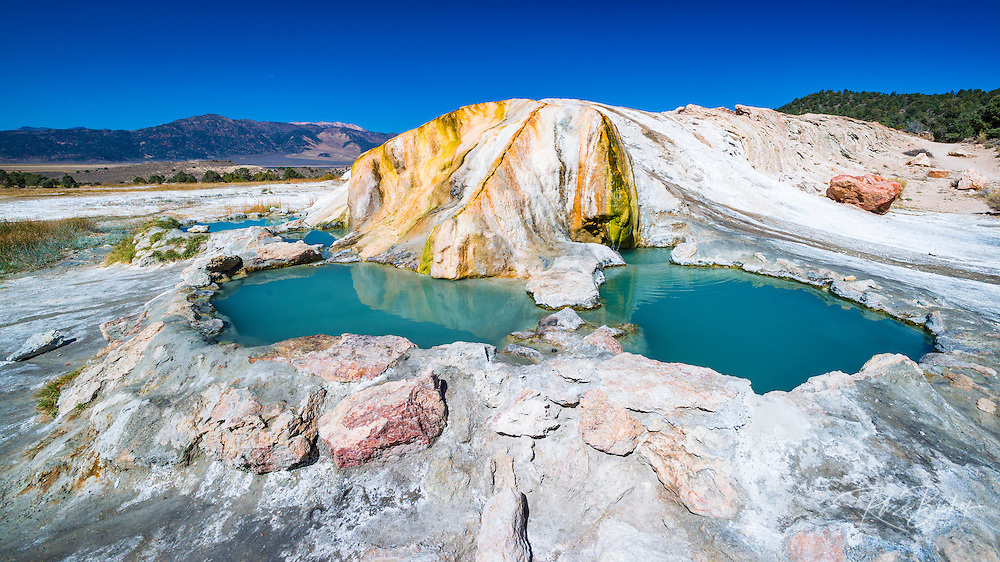 Travertine Hot Springs, Bridgeport, California USA