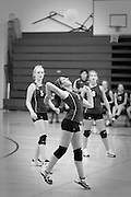 MCHS JV Volleyball .vs Eastern View .Scrimmage  .8/13/09