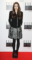 Elizabeth Olsen, ELLE Style Awards, The Savoy Hotel London UK, 11 February 2013, (Photo by Richard Goldschmidt)