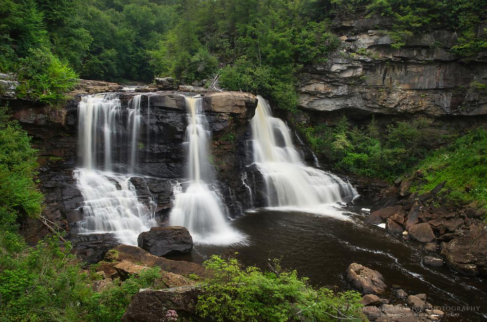 Blackwater Falls. Blackwater Falls State Park, West Virginia