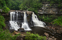Blackwater Falls. Blackwater Falls State Park, West Virginia