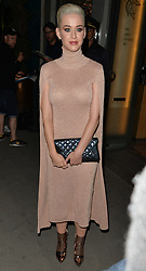 Katy Perry seen leaving caviar kaspia restaurant in Paris <br />
