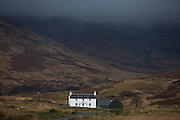 Ardvergnish farmhouse (c1800) near Pennyghael, Isle of Mull, Scotland.