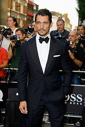 GQ Men of the Year Awards 2013. <br /> David Gandy during the GQ Men of the Year Awards, the Royal Opera House, London, United Kingdom. Tuesday, 3rd September 2013. Picture by Chris  Joseph / i-Images