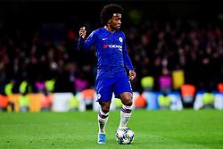 Willian of Chelsea - Mandatory by-line: Ryan Hiscott/JMP - 10/12/2019 - FOOTBALL - Stamford Bridge - London, England - Chelsea v Lille - UEFA Champions League group stage