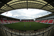 General stadium views ahead of Leigh Centurions vs Toronto Wolfpack during the Betfred Championship match at Leigh Sports Village, Leigh<br /> Picture by Stephen Gaunt/Focus Images Ltd +447904 833202<br /> 04/02/2018