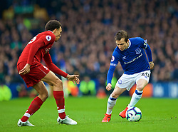 LIVERPOOL, ENGLAND - Sunday, March 3, 2019: Everton's Bernard Anício Caldeira Duarte during the FA Premier League match between Everton FC and Liverpool FC, the 233rd Merseyside Derby, at Goodison Park. (Pic by Paul Greenwood/Propaganda)