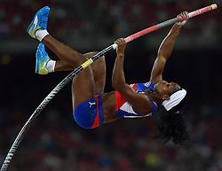 26-08-2015 CHN: IAAF World Championships Athletics day 5, Beijing<br /> Yarisley Silva CUB<br /> Photo by Ronald Hoogendoorn / Sportida