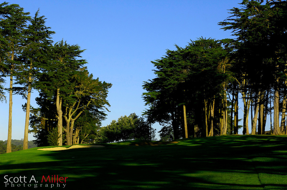 Oct. 7, 2006; San Francisco, Cailf., USA: No. 10 on the Presidio Golf Course in San Francisco, Calif. ..©2006 Scott A. Miller